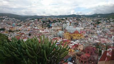 周遊*メキシコ 1日目 リメンバーミーの世界グアナファト