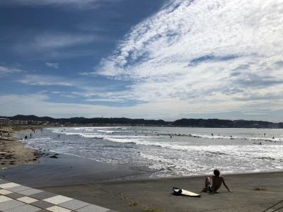 ブラブラ散歩!由比ヶ浜~江ノ島