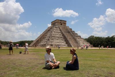 周遊*メキシコ 5日目 マヤ遺跡&セノーテ&ピンクレイク