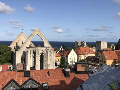 夏は涼しい北欧へ④ バラと廃墟の町・ゴットランド島ヴィスビュー