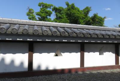 2018春、兵庫と京都の名城巡り(13/14):5月4日(13):福知山城(4):天守からの眺め、打込み接ぎの石垣