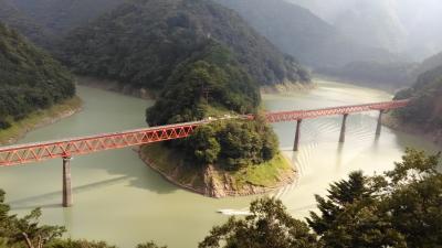 大人の修学旅行 大井川鐡道の旅2日目 夢の吊橋と奥大井湖上駅