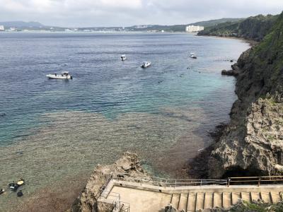 2019年4月沖縄海開きニュースを見て翌日沖縄へ