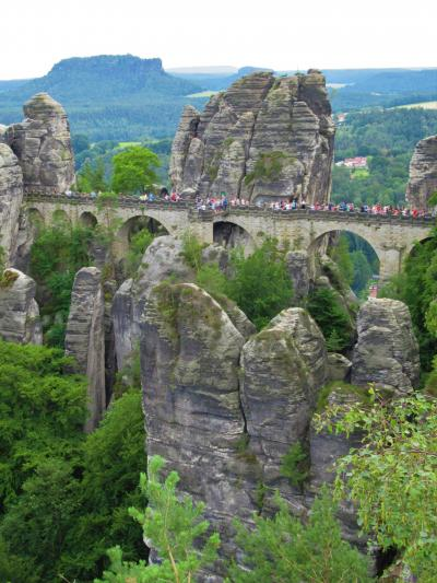 ドイツ周遊の旅⑩ 5日目:奇岩の絶景「ザクセンスイス」