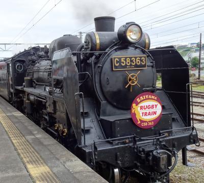 秩父鉄道『SLパレオエキスプレス』に乗って来ました♪