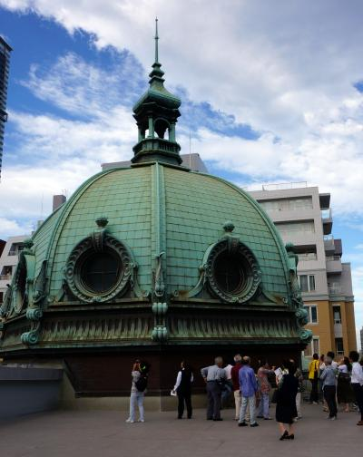 横浜の近代建築を巡る。(横浜三塔「キング、クイーン、ジャック」とエースのドーム)