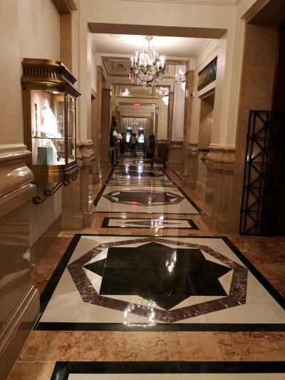 ニューヨーク 2.有名な五つ星ホテル探検記