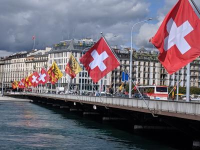 なぜだかスイス 12、の 待ち伏せ大作戦と、最後にちょこっと街歩き