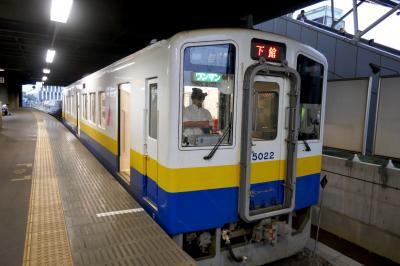 【国内335】2019.9茨城下館出張とんぼがえり 関東鉄道常総線に乗る ホテルルートイン下館に宿泊