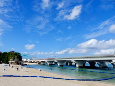 沖縄出張最終日☆どうしても海が見たくて! 限られた時間は3時間! 県庁前から歩いて行けるビーチ