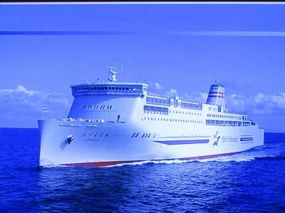 北海道ロングドライブ旅・P2:新日本海フエリーの航海記:新潟港から小樽港へ