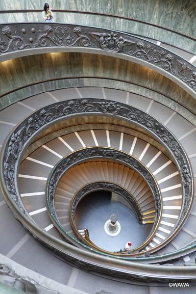 夫婦でローマ8連泊 観光2日目(中編) 追い出されるまでヴァチカン美術館