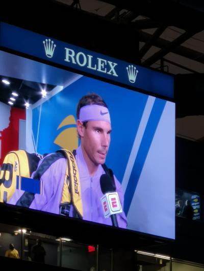ニューヨーク 4.US OPEN TENNIS CHAMPIONSHIPS 2019 準決勝観戦記