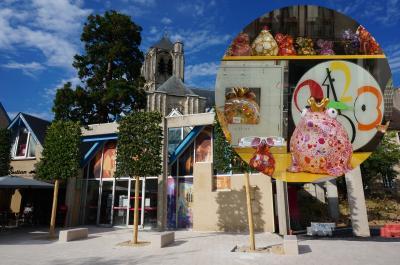 華やかな大聖堂と芸術の町ブールジュ