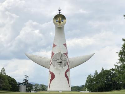 話題の大仙古墳と太陽の塔観光