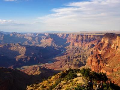 グランドサークル2000キロの旅② グランドキャニオン国立公園