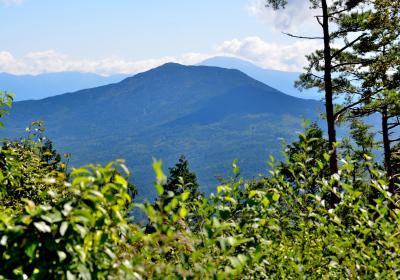 展望の見行山(905m)