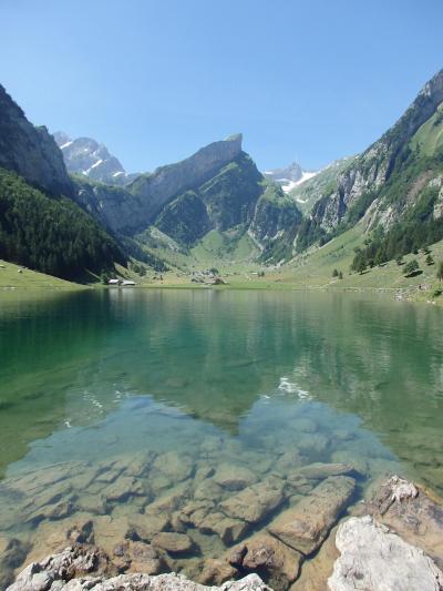 2019夏のスイス旅【52】ゼーアルプゼー湖畔散策