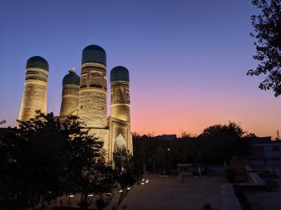青いウズベキスタン2019年9月(1/6)準備・旅程・往路編