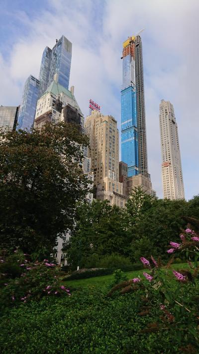 一か月遅れの夏休みニューヨーク2019⑤セントラルパーク