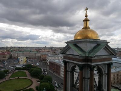 ちょっと早めの夏休みでロシア旅行 その8 サンクトペテルベルクの教会巡り聖イサク大聖堂は圧巻!