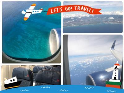 【デルタ航空・DL181】コンフォートプラス(ホノルル→成田 )※オアフ島西海岸 上空写真付