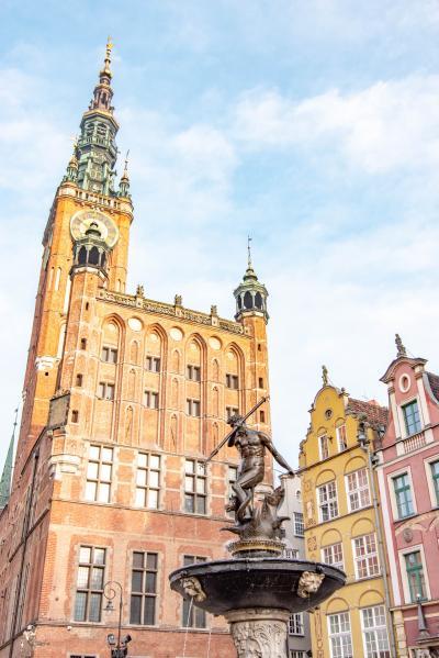 初めてのポーランド その3 世界遺産候補の港湾都市・グダニスク散策