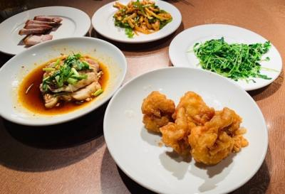中華街で食べ放題