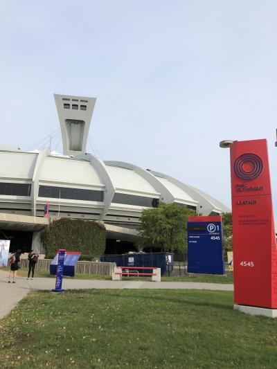 紅葉を見に?! モントリオール市内観光 美術館 オリンピック公園