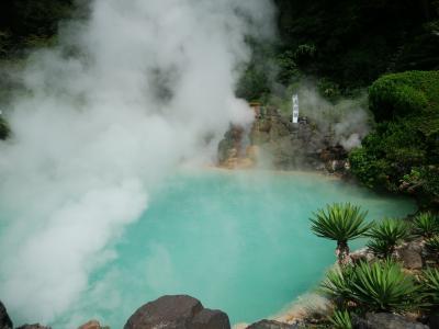大分温泉旅行~別府、天ヶ瀬~福岡から帰京