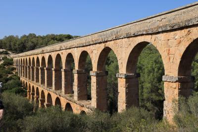 夏旅バルセロナ散策と世界遺産ラス・ファラレス水道橋を見ながらバレンシアへ