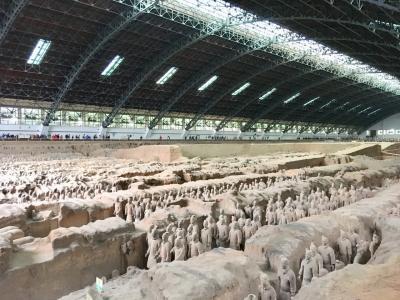 兵馬俑と秦始皇帝陵の行き方