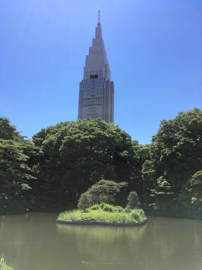 【東京近郊 水辺の街を歩く旅】(5) 新宿御苑