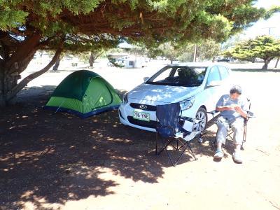 オーストラリア南部、アデレード近郊レンタカー、キャンプ旅 出発編