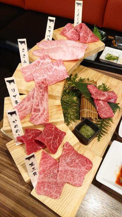 横浜中華街で贅沢「焼肉ランチ」、中華街と横浜公園を散策。