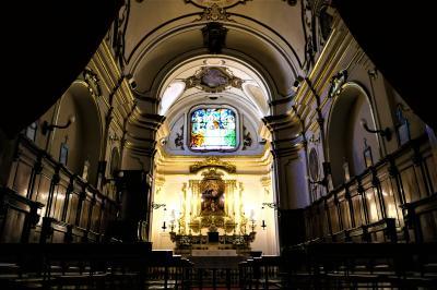 魅惑のシチリア×プーリア♪ Vol.599 ☆コゼンツァ旧市街:未完成のコゼンツァ大聖堂 美しいステンドグラス♪