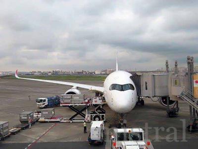 エアバスA350に乗ってきた