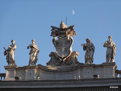 夫婦でローマ8連泊 観光2日目(後編) ヴァチカン美術館から抜けて大聖堂