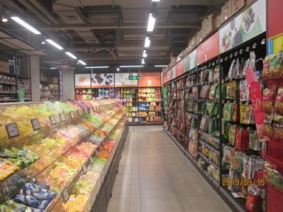 上海の蒲淞北路・家楽福(カルフール)・新形態店舗 Le Marche(ル マルシェ)天山店