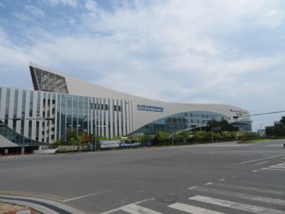 韓国 「行った所・見た所」 釜山のチャガルチで食事をして国際旅客ターミナルを見て釜山駅に宿泊は東横インで