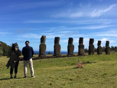 絶海の孤島イースター島で親子でのんびりとモアイ遺跡めぐり1