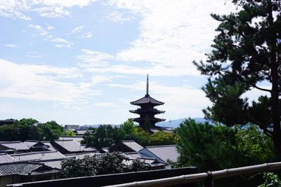 おでかけ京都、のんびり歩いて食べ歩き