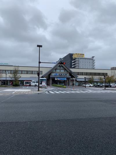 台風の中の島根、鳥取trip