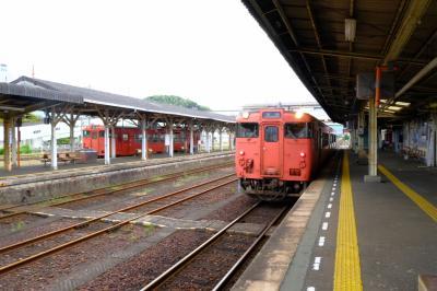 博多からサンライズ出雲を乗りに行く。