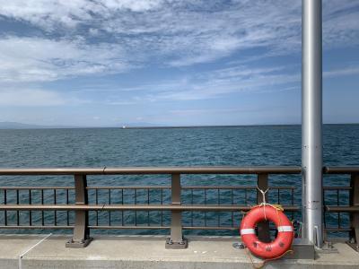 真夏の青森は陸奥湾からのそよ風が心地よい