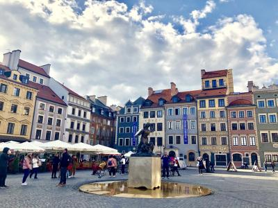 夏旅ポーランド ~ワルシャワ市内観光とオペラ観劇