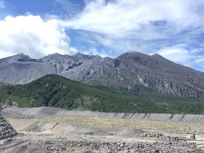旅の里火山展望台~黒神埋没鳥居を見てきた