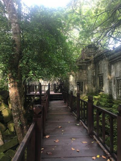 ベンメリア遺跡の静かな時間に行って来ました。