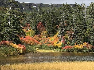 大雪高原 秋の紅葉を求めて沼めぐり