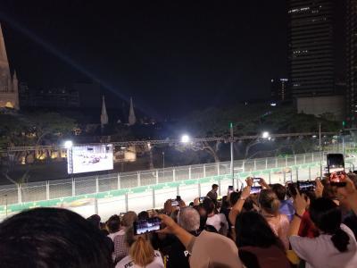 JGC修行でシンガポールF1観戦②いよいよマリーナベイへ